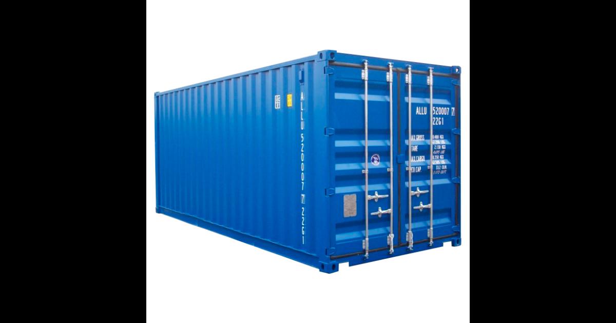 Lej en 20 fods container hos Del-Pin A/S