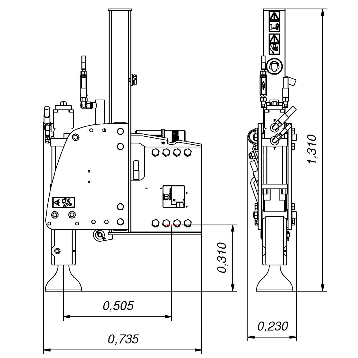 Utroligt Lej en Rabaud - Vibrescopic II MP 15/35 hos Del-Pin A/S VO71
